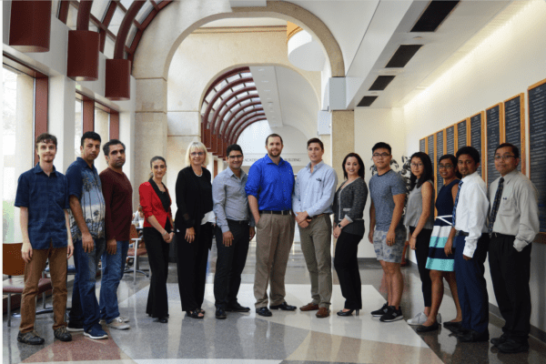 group photo of PRISMAp team members